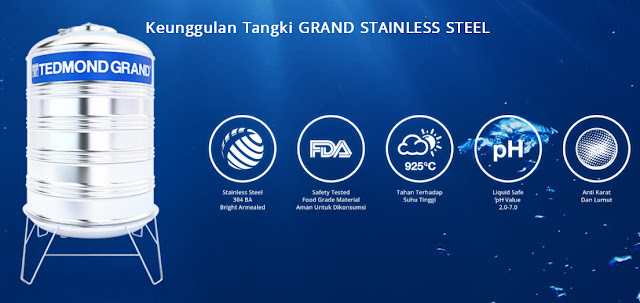 KeunggulanTangkiGRANDSTAINLESSSTEEL