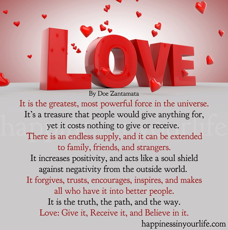 Love Each Other When Two Souls: LOVE