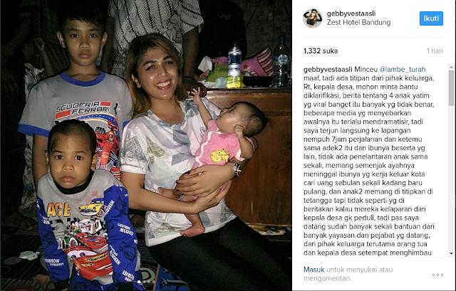 Ibu Keempat Anak Yatim di Sumedang Sangat Malu Dikatakan Tak Urusi Anaknya