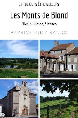 Une journée passée à découvrir les Monts de Blond, entre randonnées et patrimoine, avec la visite des villages de Blond et Mortemart, plus beau village de France. (Haute-Vienne)