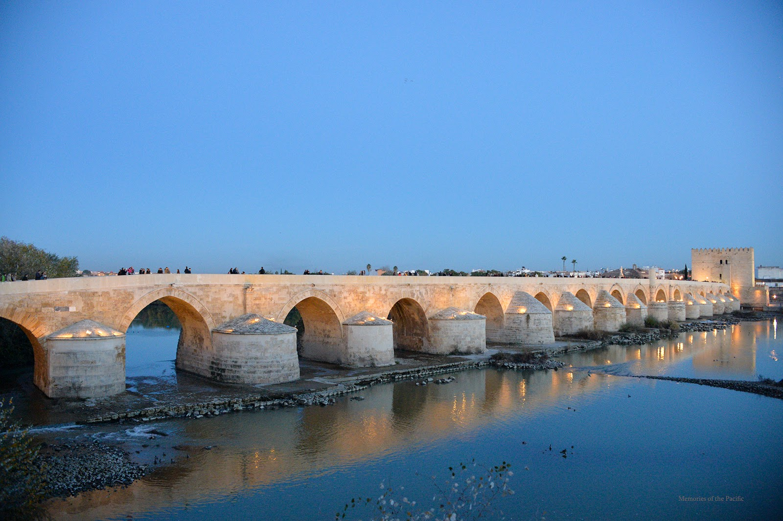 roman bridge puente romano cordoba spain