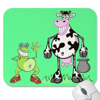 Katak Yang Sombong dan Anak Lembu