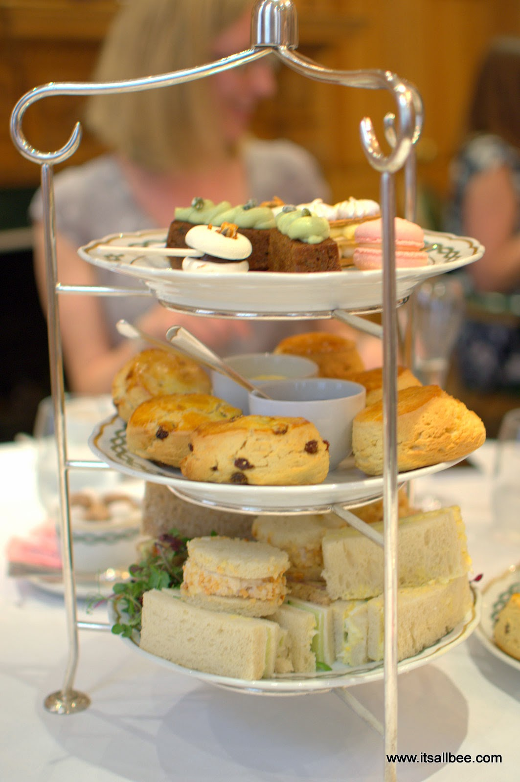 Champagne and Scones - Afternoon Tea At Milestone LONDON