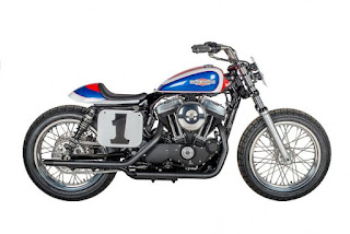 sportster mert lawwill replica flat track by shaw hd side right