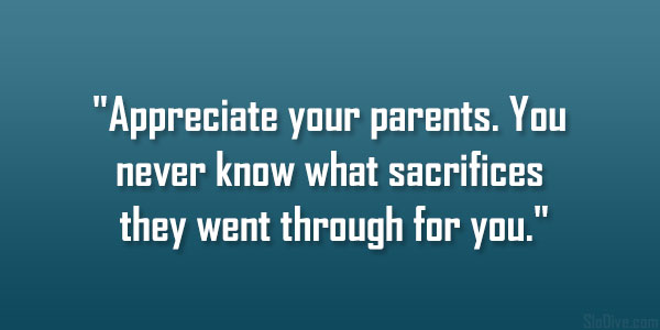 Quotations about parents
