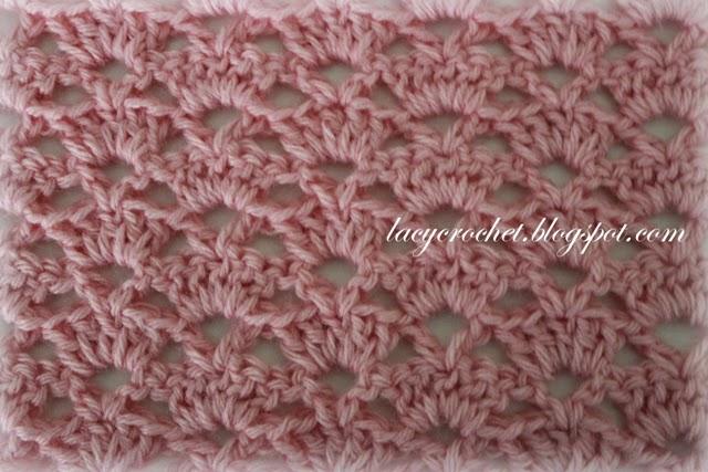 Alternating V Stitch Afghan Pattern