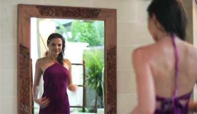 sifat-sifat bayangan pada cermin datar
