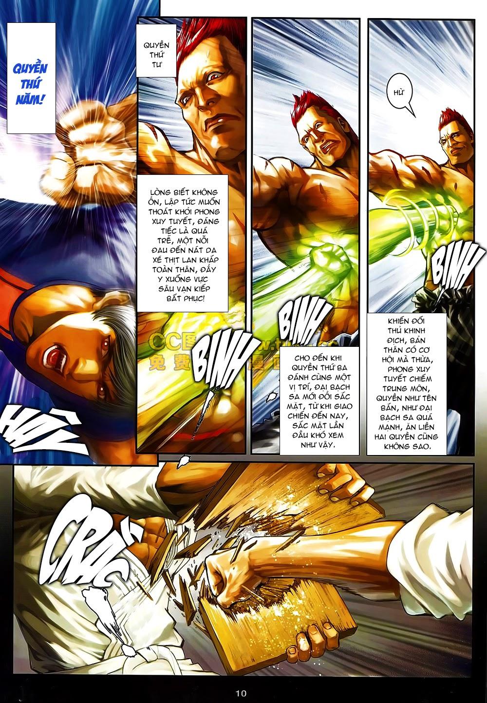 Quyền Đạo chapter 6 trang 10