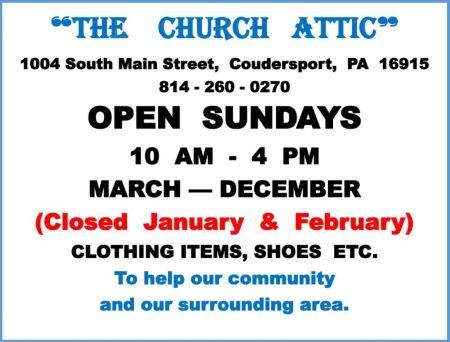 The Church Attic Open Sundays