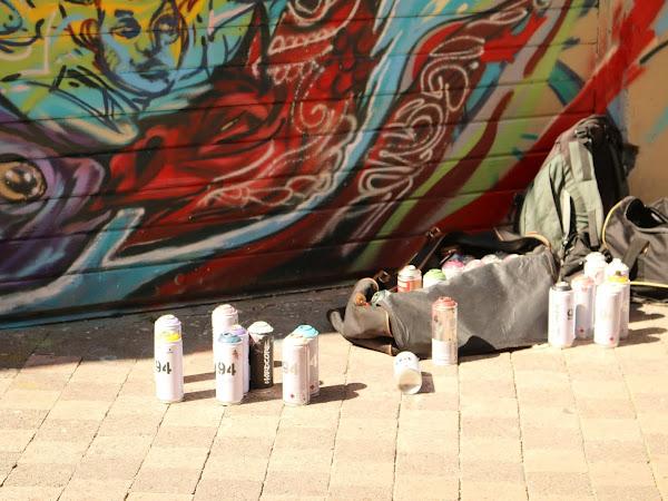 Street art à Marseille : quartier du cours Julien