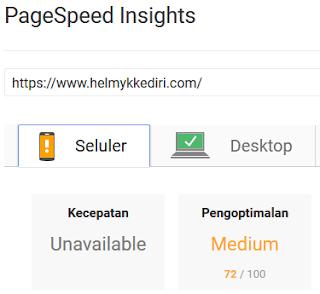 Pentingnya kecepatan loading blog dipencarian mobile