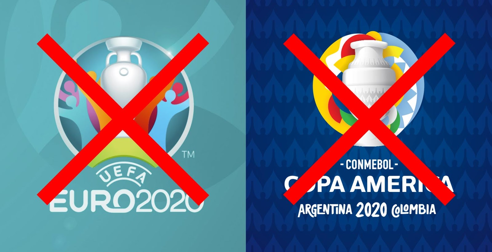 Official: Copa America and EURO Moved to 2021 - Footy ...
