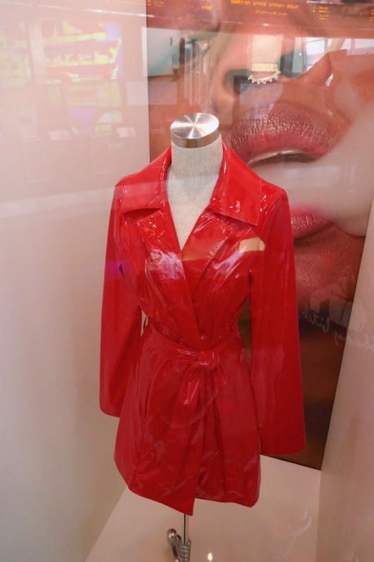 Abra Assassination Nation Em PVC trench coat