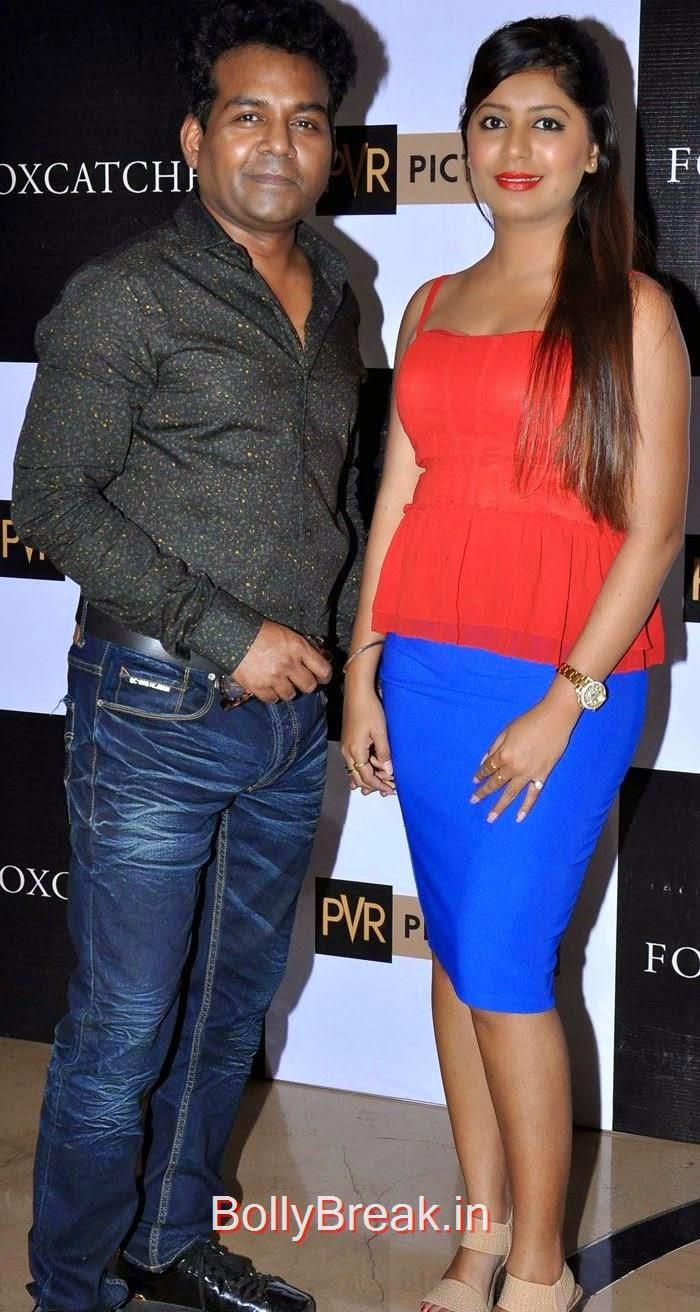 """Girish Wankhede, Sejal Mandavia, Komal Jha, Yuvika Chowdary At """"Foxcatcher"""" Premiere"""