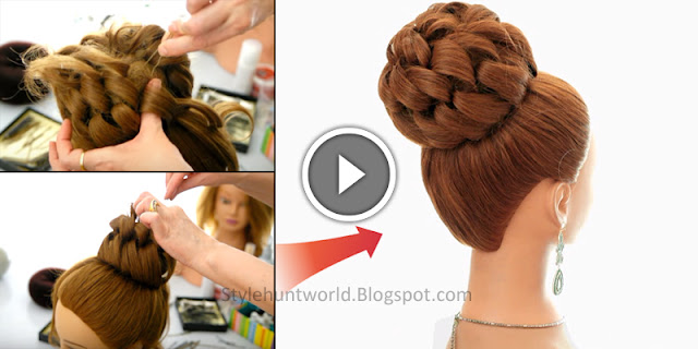 Learn - How To Make Easy Prom Hairstyle, See Tutorial