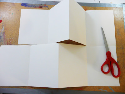 how to make a book stand with paper
