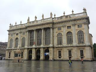 The Palazzo Madama in Turin's Piazza Castello