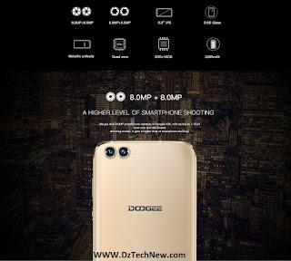 هاتف Doogee X30: أول هاتف ذكي بأربع كاميرات في العالم متوفر الأن في الجزائر