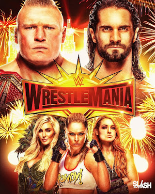 WrestleMania 35 2019 Custom HD Latino 5.1