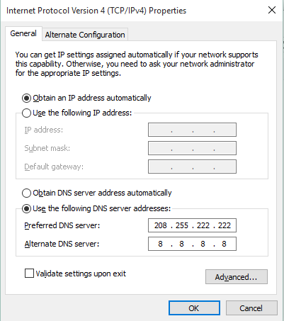 New How to fix Dns_Probe_Finished_No_Internet error in Chrome By