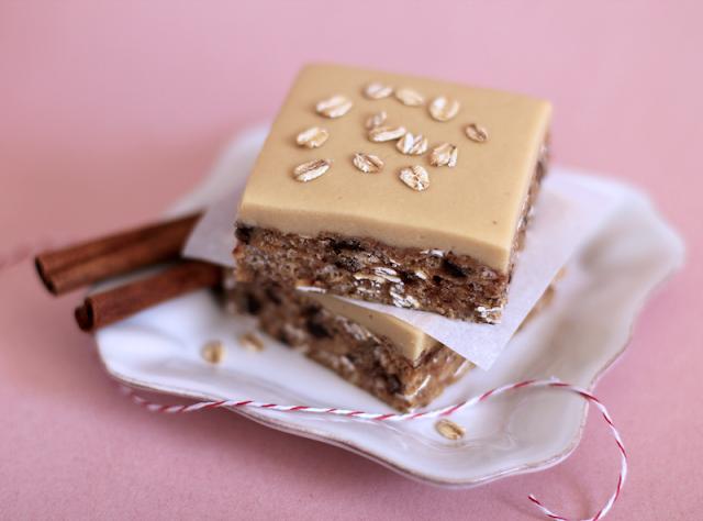 Healthy Oatmeal Raisin Krispy Treats - Desserts with Benefits