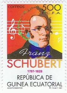 Resultado de imagem para selo de FRANZ PETER SCHUBERT