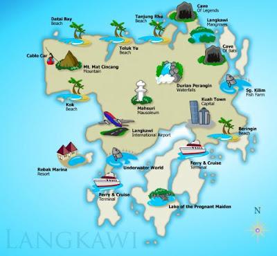 Dataran Lang, Langkawi, honeymoon di Langkawi, anniversary at Langkawi, tempat mesti dilawati di Langkawi