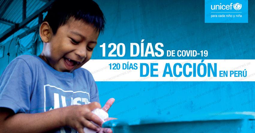 A 120 días de la emergencia por Covid-19, Unicef hace un llamado para colocar a la niñez en el centro de la respuesta