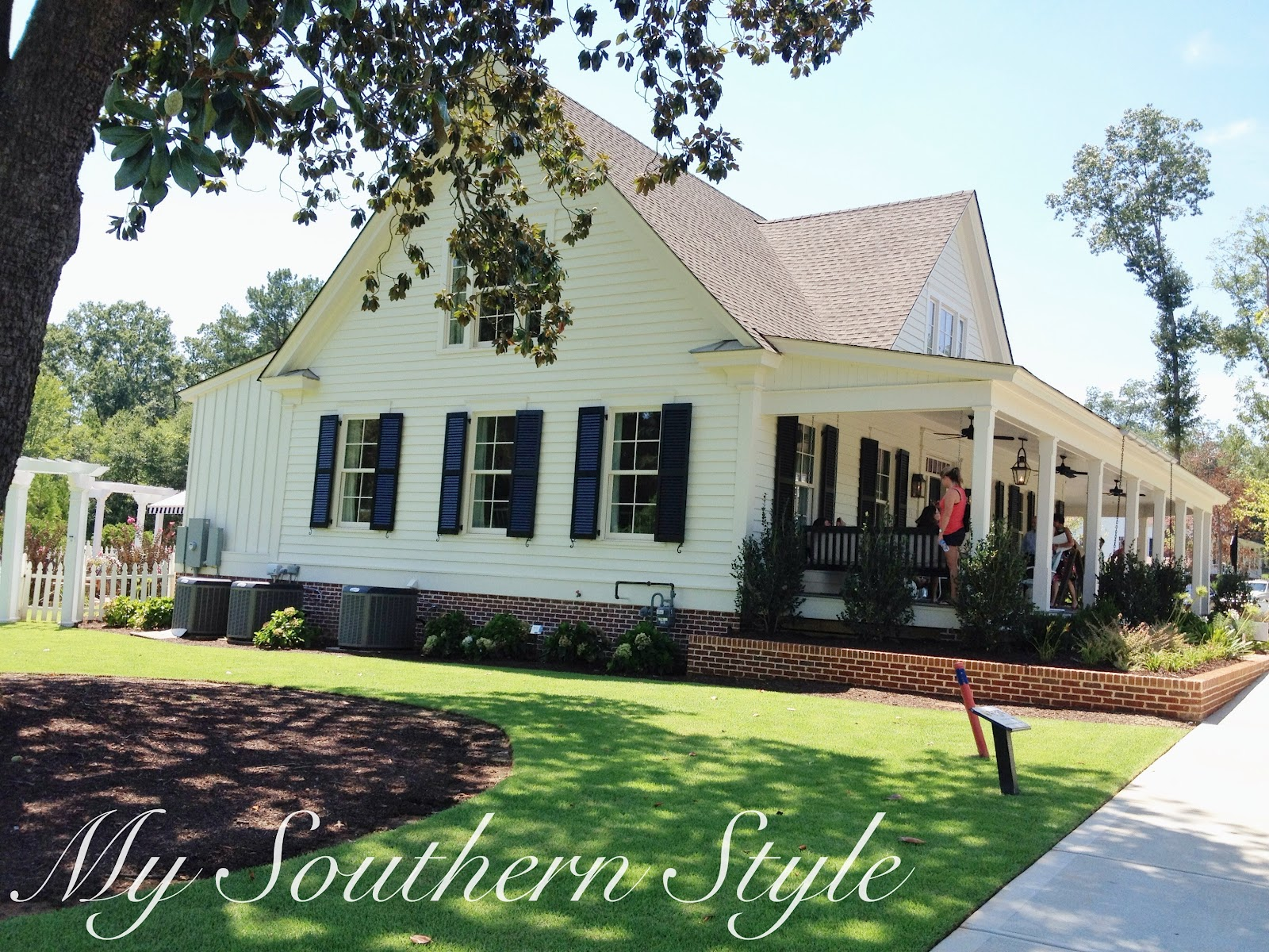 My Southern Style Tour Southern Living Idea House 2012