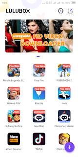 Buka Aplikasi Lulubox