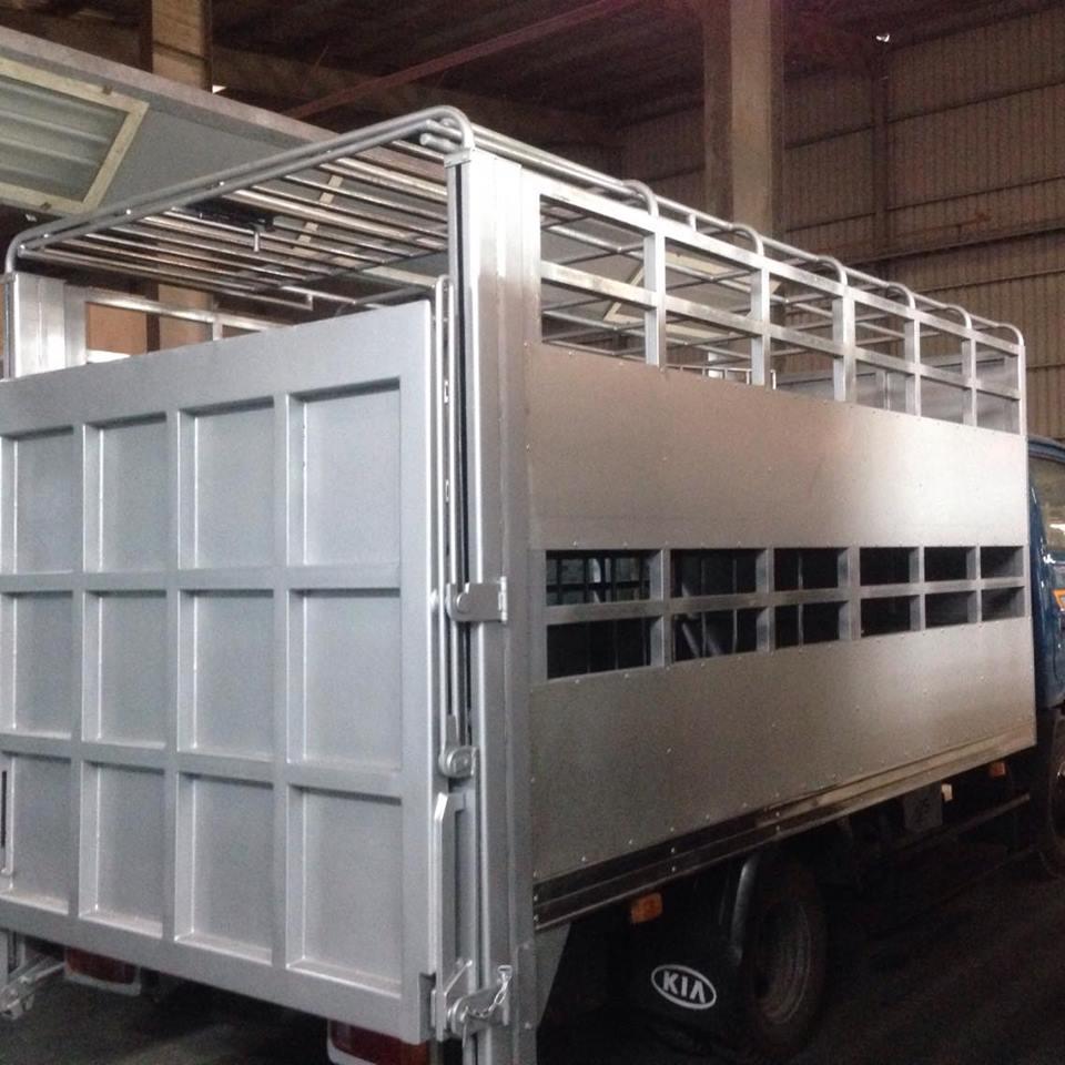 Xe tải chở lợn Thaco K165s tại Hải Phòng