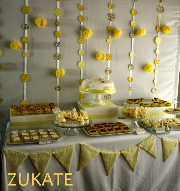 Fiesta de comuni n para tom s zukate - Ideas para decorar una mesa de comunion ...