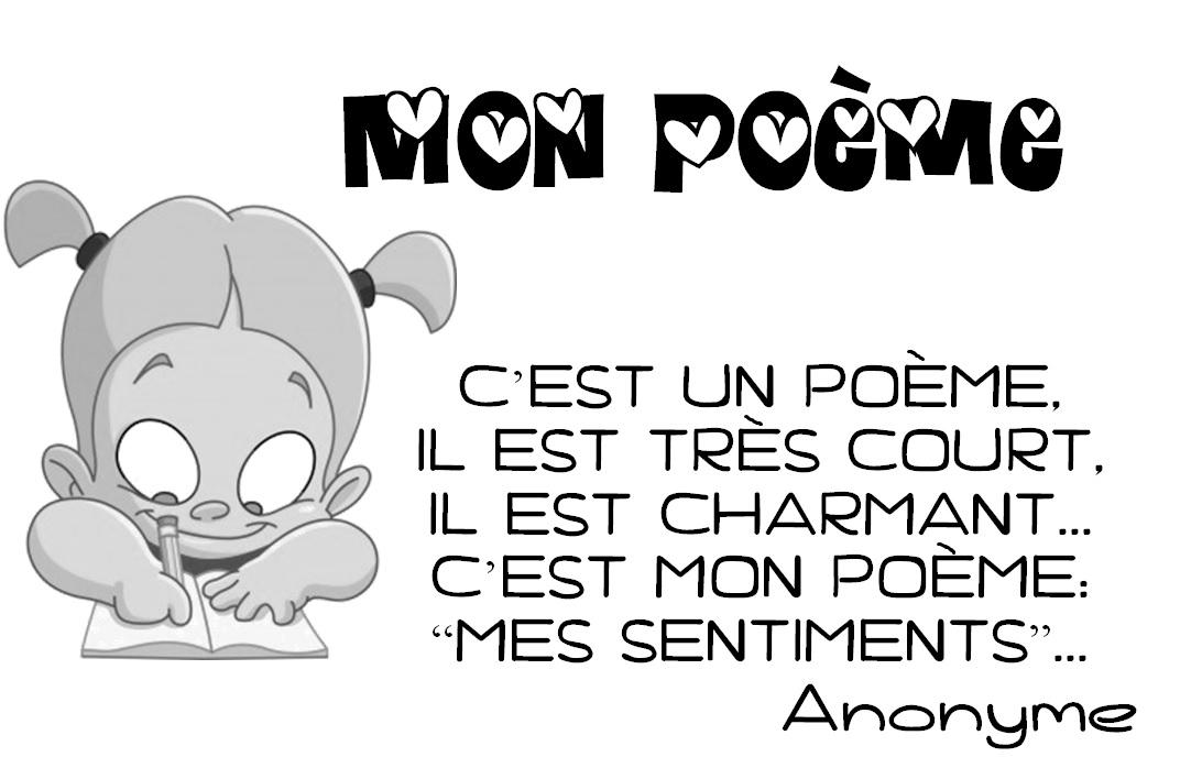Je Parle Français En Maternelle Mon Poème