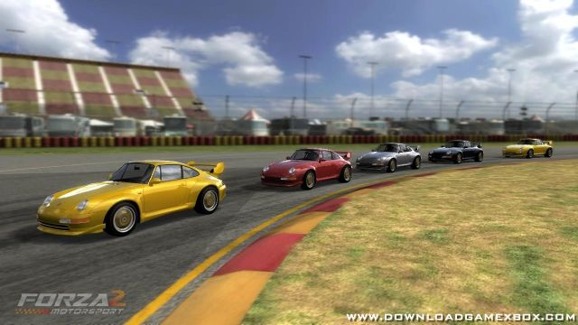 Forza Motorsport 2 [NTSC-U][ISO] - Download Game Xbox New Free