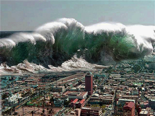how are tsunamis formed