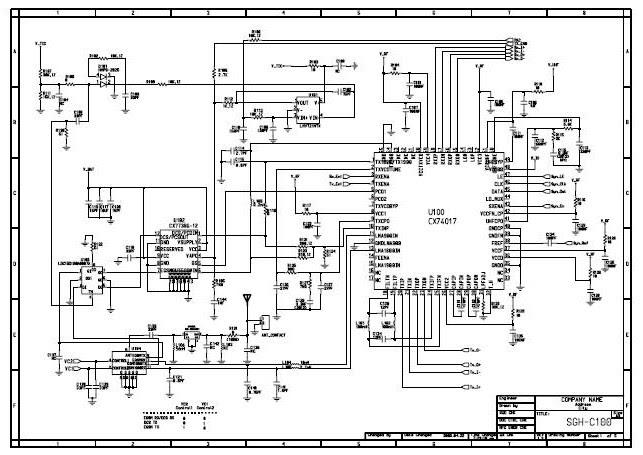 samsung schematic diagram