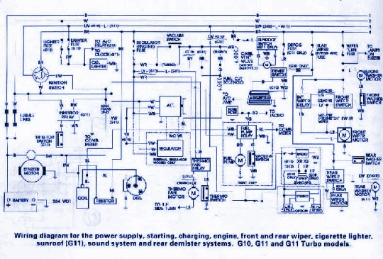 Wiring & diagram Info: Daihatsu G10 Wiring Diagram on