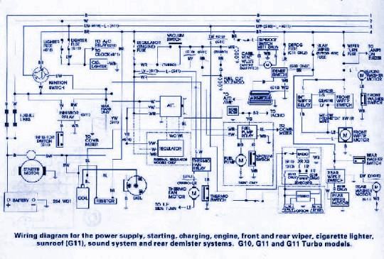 Wiring & diagram Info: Daihatsu G10 Wiring Diagram