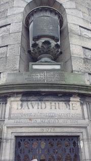 David Hume's Tomb, Old Calton Burial groun, Edinburgh