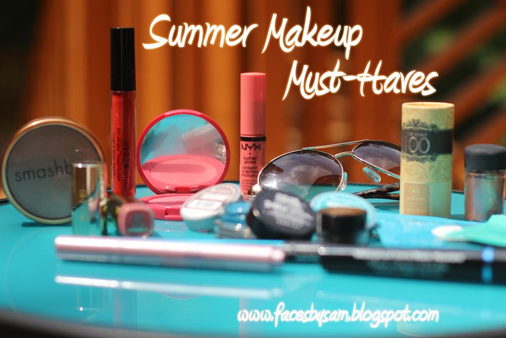 faces by sam beauty blog summer makeup must haves. Black Bedroom Furniture Sets. Home Design Ideas