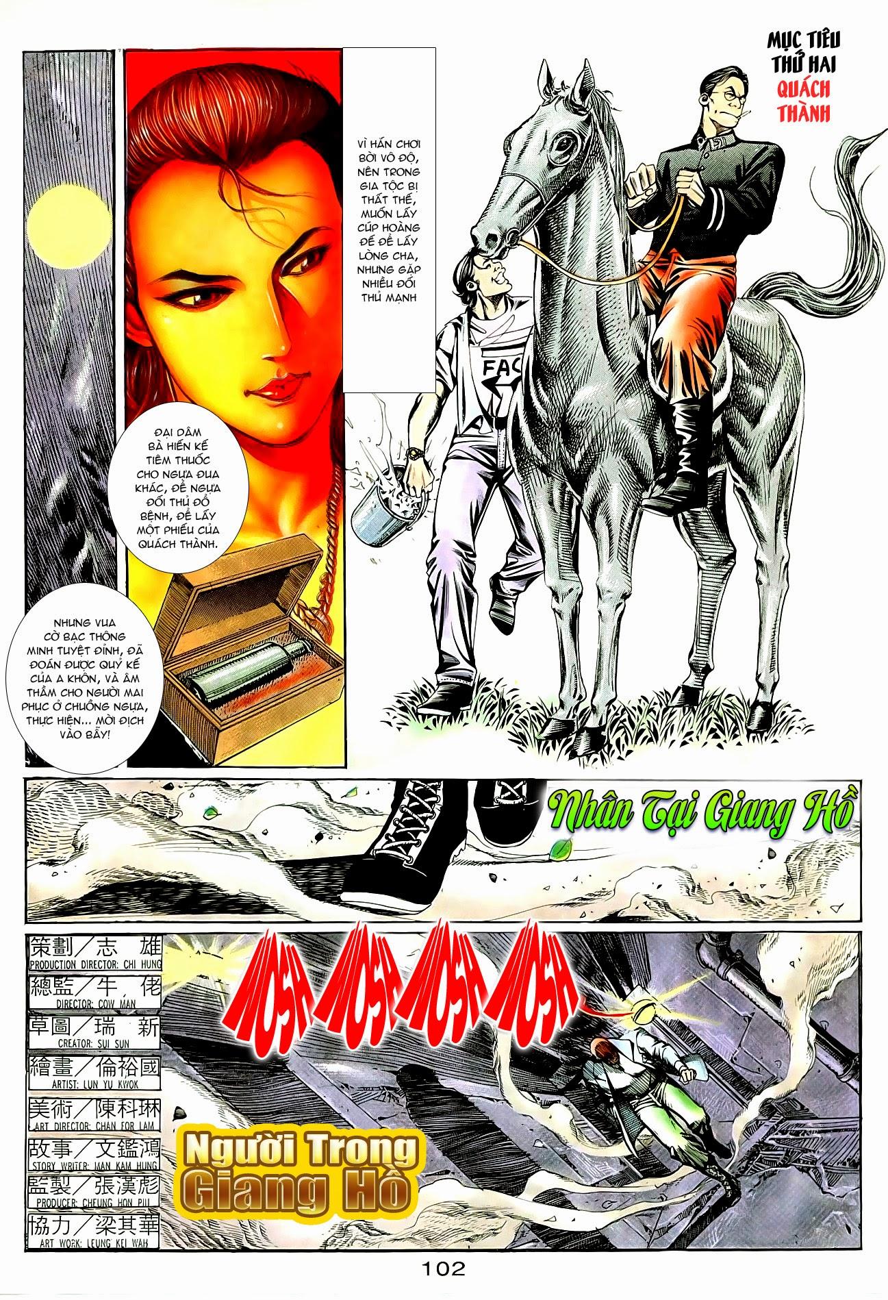 Người Trong Giang Hồ chapter 95: tình kiêu trang 3