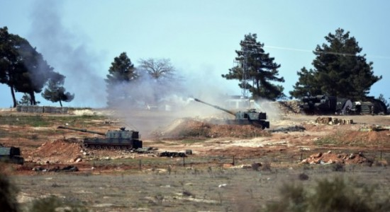 Turki Bantai 55 Milisi ISIS di Suriah Utara