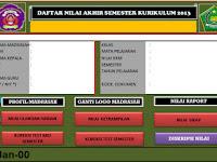 Unduh Aplikasi Daftar Nilai Kurikulum 2013 Full Kurtilas