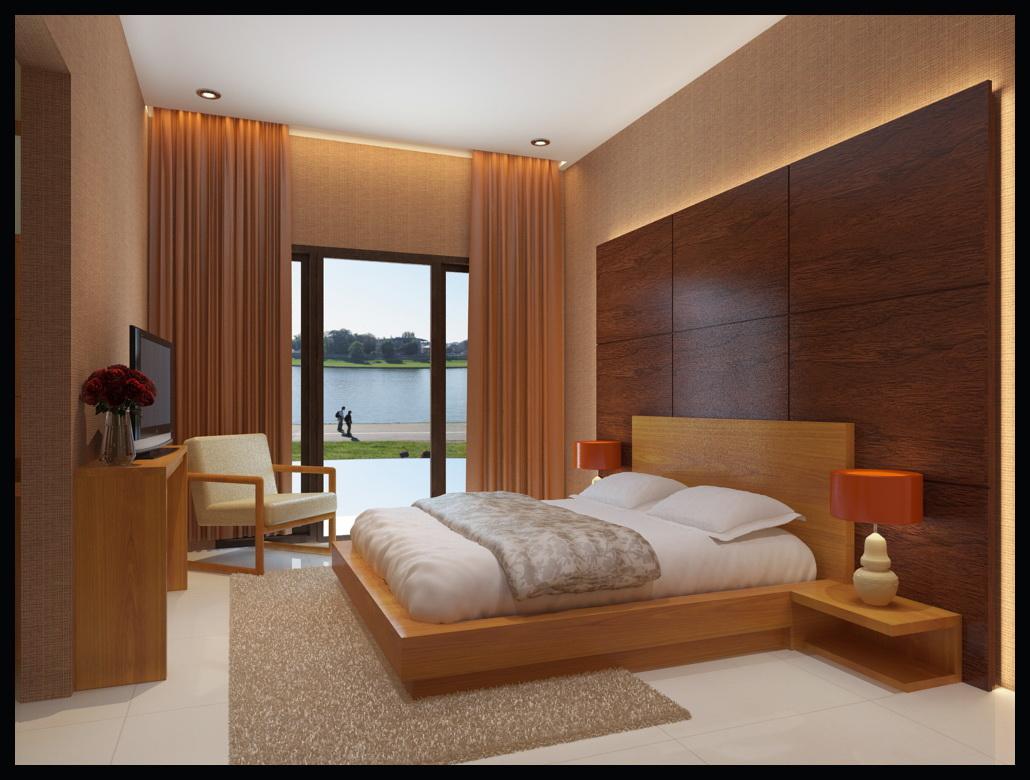 Interior Kamar Tidur Villa Interior Rumah