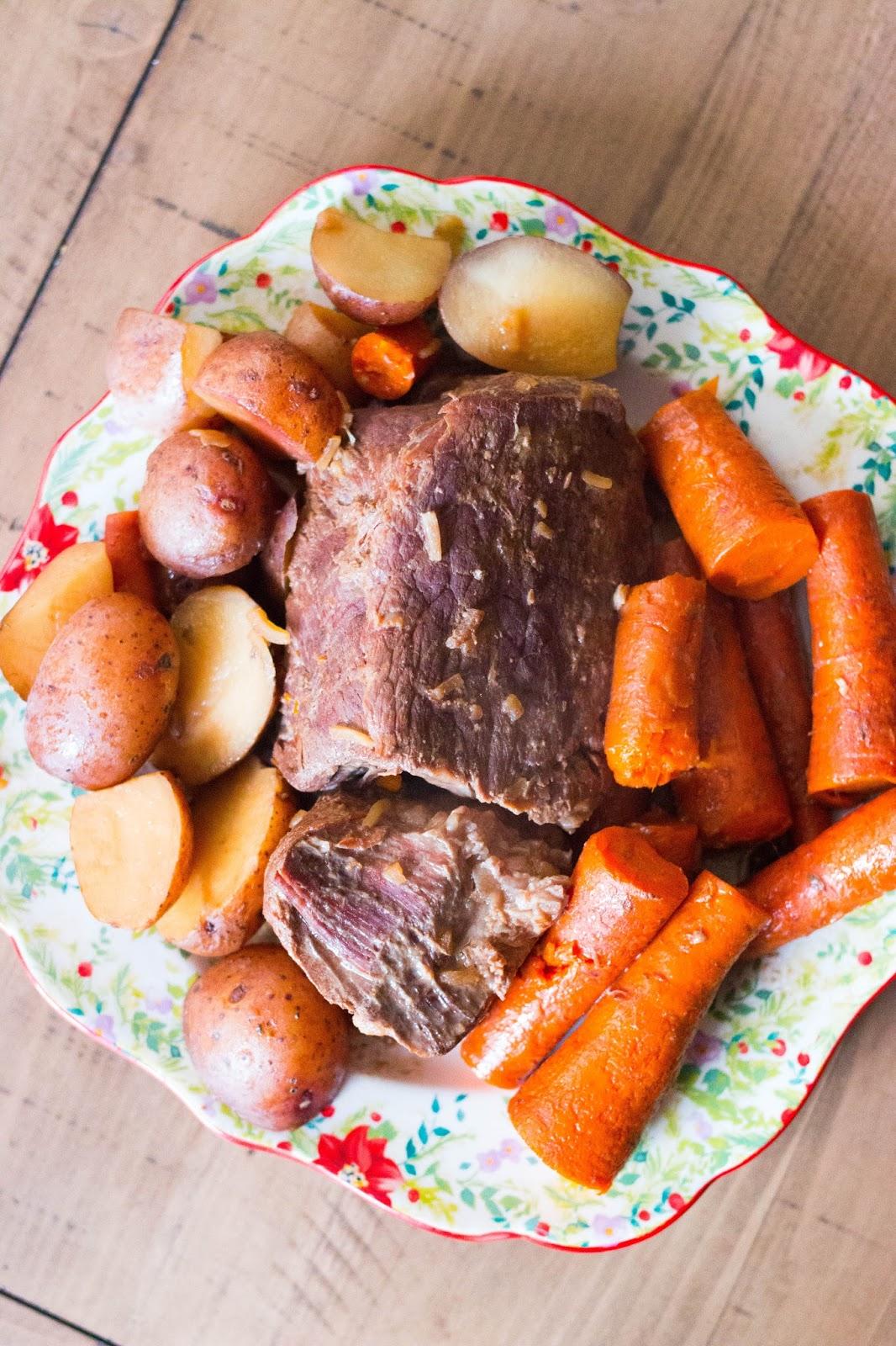4 ingredient pot roast