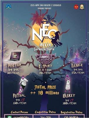 Event NEO 2018 SMAN 2 Sidoarjo