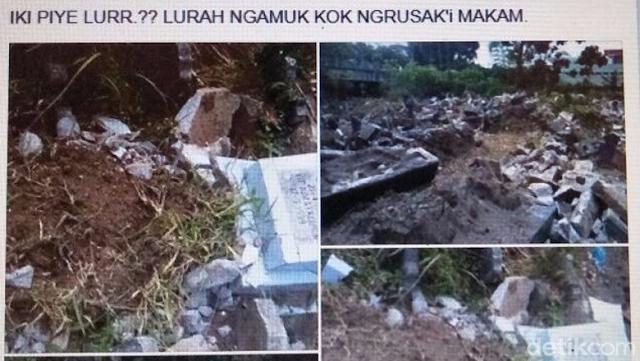 Klarifikasi Mengejutkan soal Pembongkaran Makam di Ponorogo, Ini Kata Lurahnya