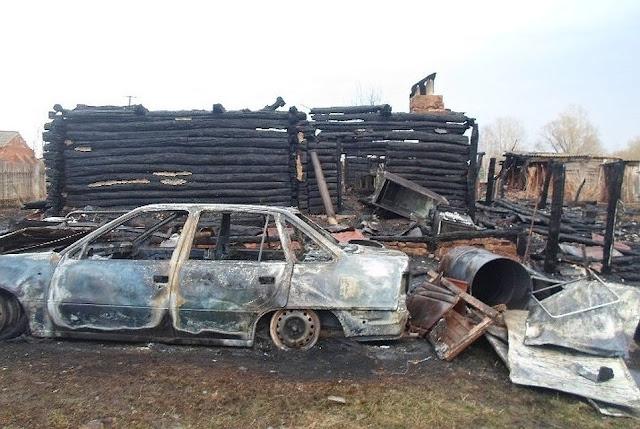 В Башкирии два человека погибли в пожаре
