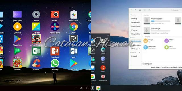 Remix OS vs Phoenix OS - Catatan Nizwar ID