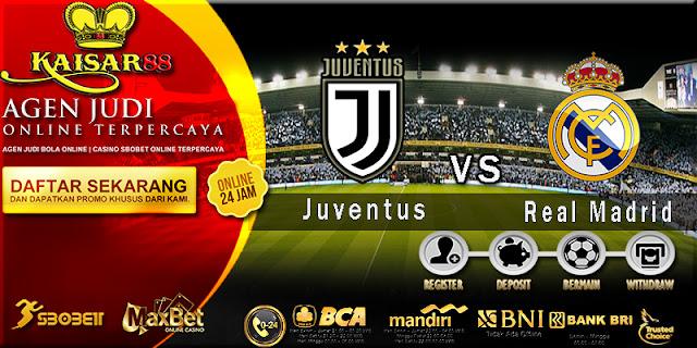 Prediksi Bola Jitu Juventus vs Real Madrid 4 April 2018